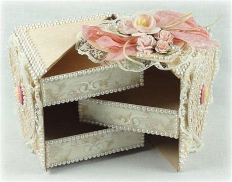 how to make cardboard jewelry boxes diy beautiful secret jewelry box from cardboard