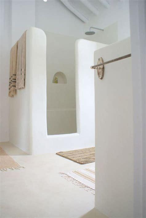 tadelakt dusche tadelakt in de badkamer wooninspiratie