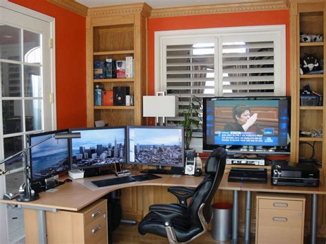 home to office 15 envious home computer setups inspirationfeed
