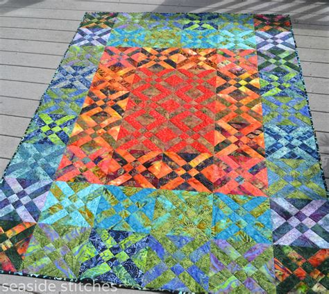 Quilt Batik by Seaside Stitches S Quilt Festival Throw Quilts