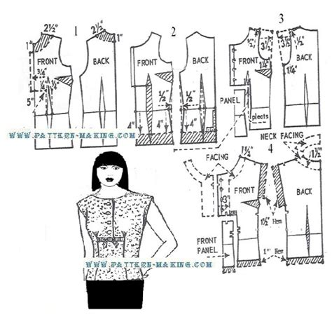 pattern making of blouse drafting over blouse pattern making com