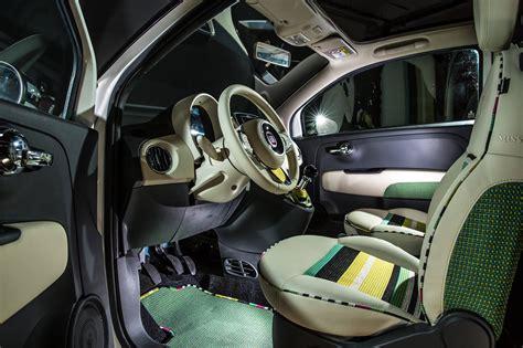 fiat 500 custom interior fiat 500c missoni by garage italia customs interior