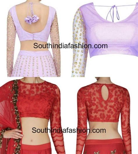 blouse pattern in net stunning net blouse designs south india fashion