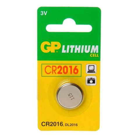 Baterai Cr2016 gp lithium cell cr2016 battery shiva