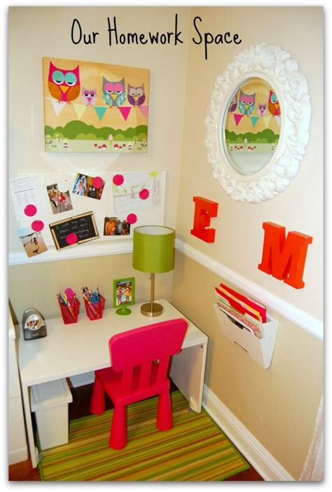 homework desk ideas get ahead of school assignments with these cute homework