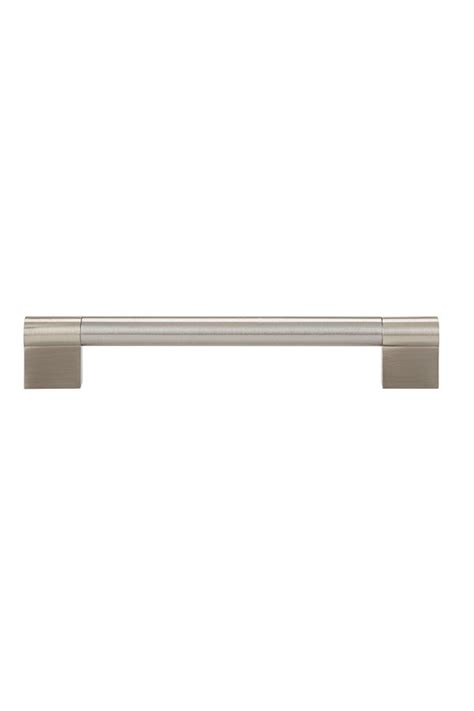 Kitchen Craft Hardware Contemporary Cabinet Pull In Brushed Nickel 160mm