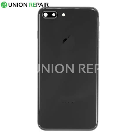 replacement for iphone 8 plus back cover assembly space gray