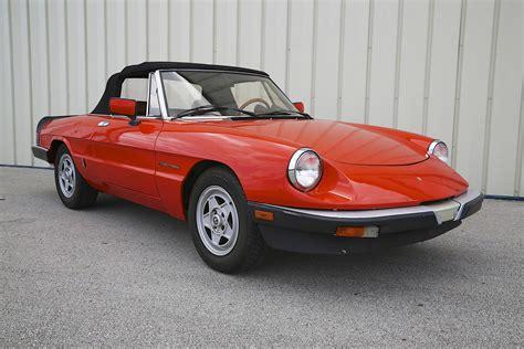 Alfa Romeo Veloce Spider by 1983 Alfa Romeo Spider Veloce Skunk River Restorations