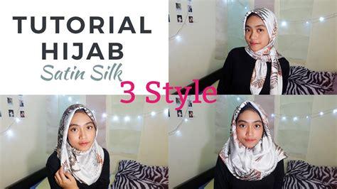 tutorial hijab pasmina lebaran 2015 tutorial hijab segi empat i bahan satin silk i inspirasi