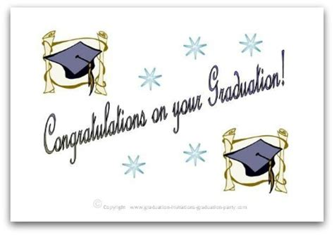 graduation cards free templates free printable graduation cards