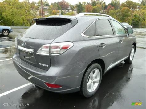 gray lexus rx 350 nebula gray pearl 2012 lexus rx 350 awd exterior photo