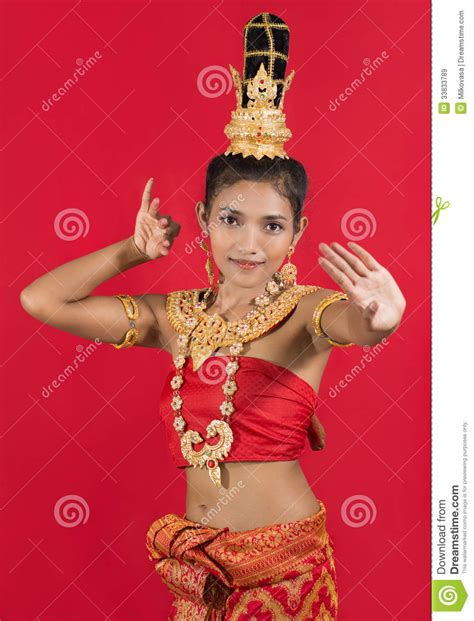 thailand new year background royalty thai dancer royalty free stock images image 33833789