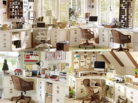 pottery barn home designing and creating a home office the journey