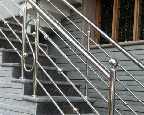 Steel Banister by Stainless Steel Railing Manufacturers Stainless Steel