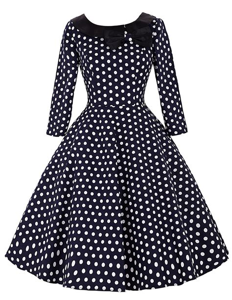 aliexpress buy sleeve 50s rockabilly dresses