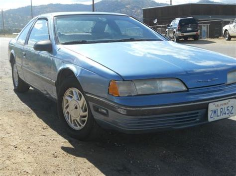 how does cars work 1989 ford thunderbird electronic valve timing sell used 1989 ford thunderbird in tehachapi california united states