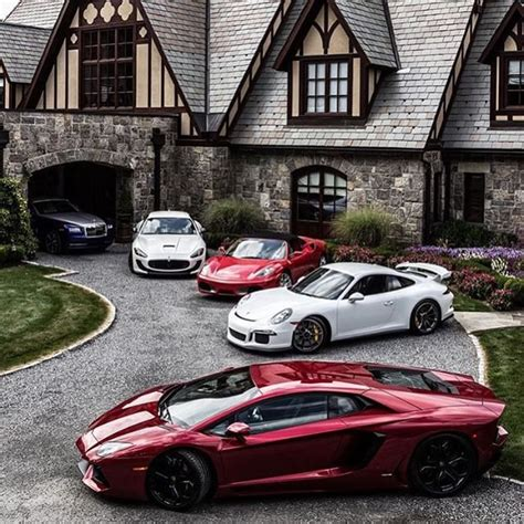 maserati driveway mansion x supercars follow thecarreport and boss