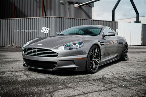 custom aston martin dbs aston martin dbs rides on awesome pur wheels autoevolution