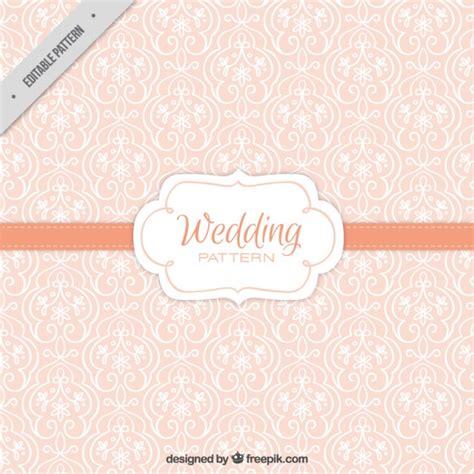 freepik wedding pattern cute vintage floral wedding pattern vector free download