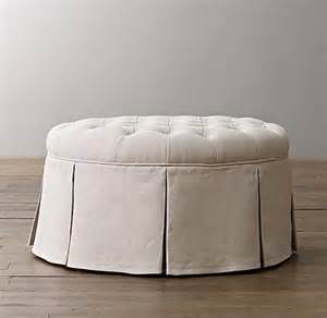 Tufted Upholstered Ottoman Classic Tufted Upholstered Ottoman