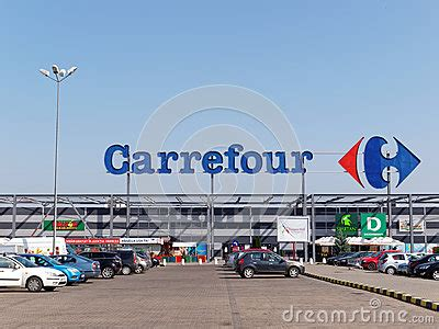 Barbel Carrefour carrefour hypermarket editorial stock image image 64619479