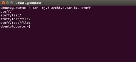 tutorial gzip linux how to compress and extract files using the tar command on
