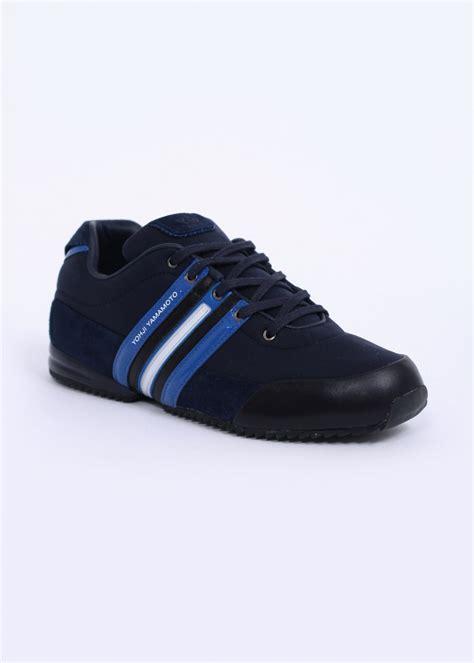 adidas y3 adidas y3 sprint trainers navy blue white