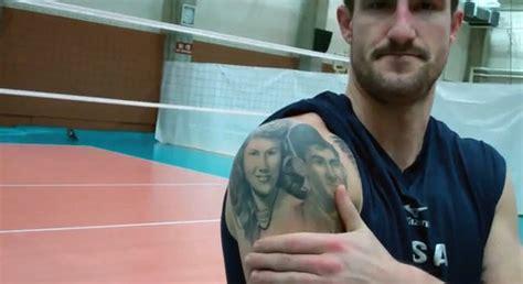 matt anderson tattoo jeff menzel shirtless usa player tattoos