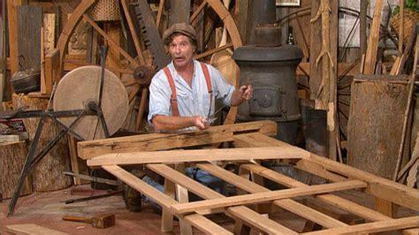 pbs woodworking programs oak field gate the woodwright s shop thirteen