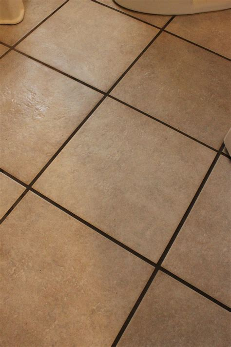 Grouting Tile Floors by Diy Tile Or Grout Cleaner