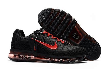 cheap nike air max 2017 5 unisex black running shoe