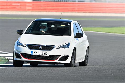 peugeot 308 gti white peugeot 308 gti 2017 long term test review by car magazine