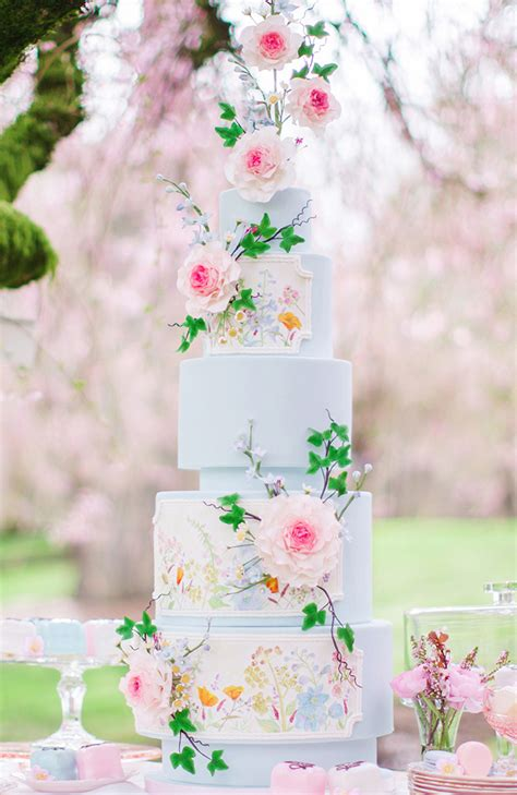 blossom spring wedding inspiration magazine