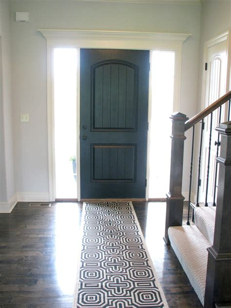 Front Door Interiors Larson Black Interior Front Door