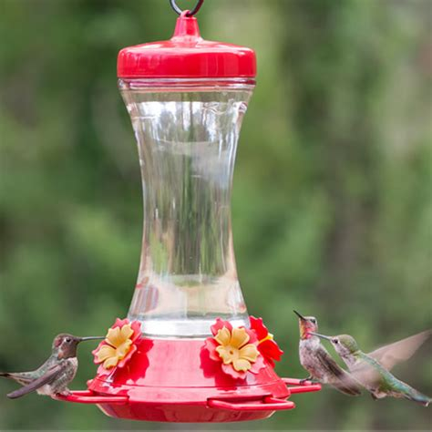 adjustable perch hummingbird feeder