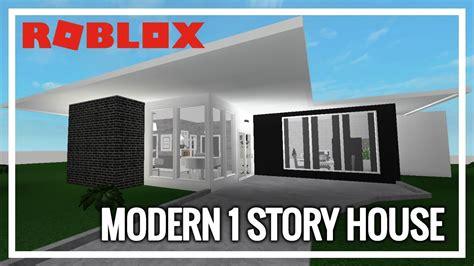 1 floor mansion bloxburg roblox welcome to bloxburg modern 1 story house 27k