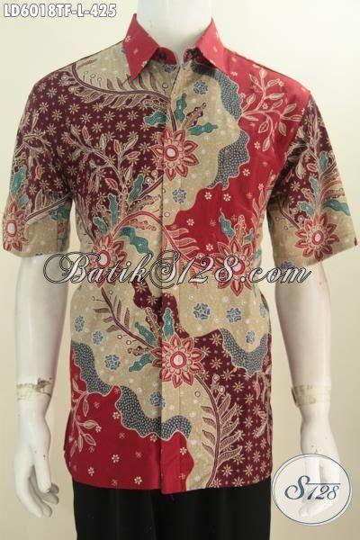 Kemeja Batik Mewah kemeja batik kerja motif mewah berbahan halus proses tulis