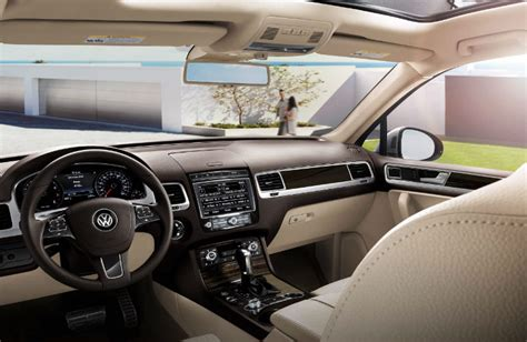 volkswagen touareg 2017 interior what are the features in 2017 vw touareg wolfsburg edition