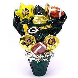 gifts for packers fans green bay packers cookie pot bouquet findgift com