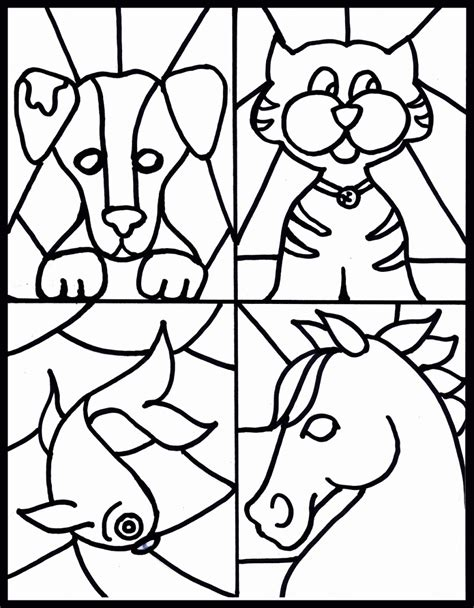 coloring pages christmas stained glass christmas stain glass coloring page coloring home