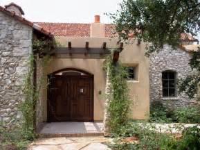 front courtyard entry mediterranean exterior austin