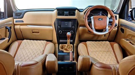 modified interior mahindra scorpio modified interior