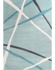 Blue Modern Rug City Collection Blue Modern Rug 550