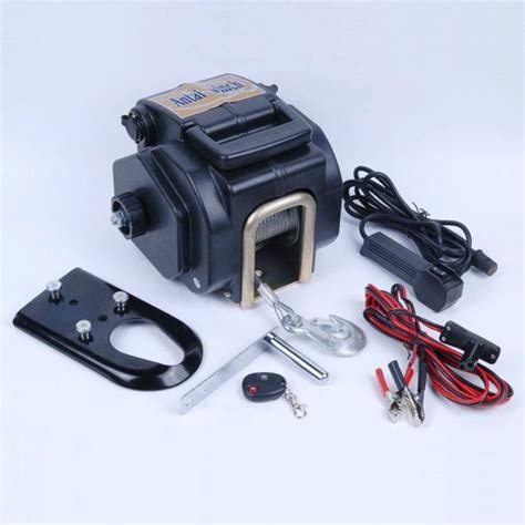 boat engine winch 12 volt electric strap winch 12 free engine image for