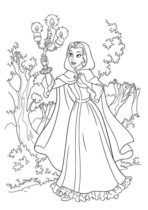 lumiere coloring pages coloring pages