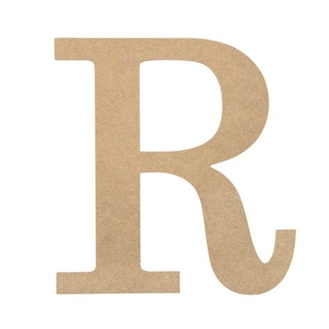 r r woodworking 10 quot decorative wood letter r ab2042 craftoutlet