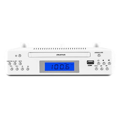 under cabinet kitchen cd clock radio under cabinet kitchen clock radio cd stereo fm ipod iphone