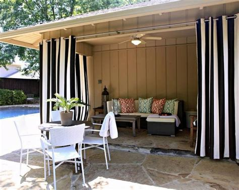 gazebo curtain ideas tende da esterno