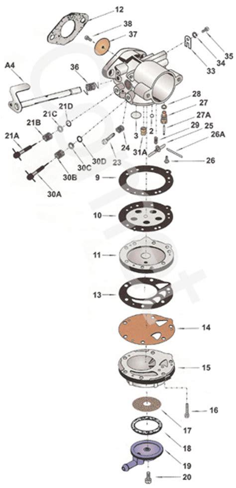 tillotson carb diagram tillotson carburetor carburetors engines parts