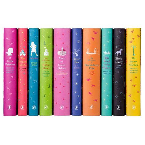 ten books a colorful puffin classics book set juniper books